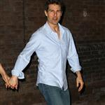Tom Cruise and Katie Holmes out in Baton Rouge, Louisiana 110857