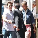 Tom Cruise and Katie Holmes out in Baton Rouge, Louisiana 110860