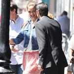Tom Cruise and Katie Holmes out in Baton Rouge, Louisiana 110861