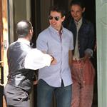 Tom Cruise and Katie Holmes out in Baton Rouge, Louisiana 110864