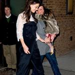 Tom Cruise and Katie Holmes Head to Buddakan for Katie's Birthday Dinner with Suri 100977