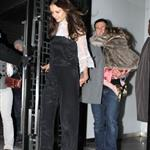 Tom Cruise and Katie Holmes Head to Buddakan for Katie's Birthday Dinner with Suri 100985