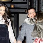 Tom Cruise and Katie Holmes Head to Buddakan for Katie's Birthday Dinner with Suri 100987