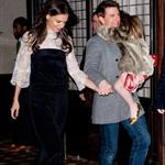 Tom Cruise and Katie Holmes Head to Buddakan for Katie's Birthday Dinner with Suri 100995