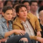 Tom Cruise and Katie Holmes attend Laker Game  57247