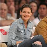 Tom Cruise and Katie Holmes attend Laker Game  57249