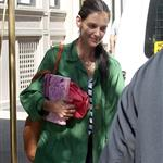 Katie Holmes out in New York with Suri this week 119370