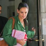 Katie Holmes out in New York with Suri this week 119372