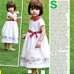 OK Magazine feature Tom Cruise Suri Cruise at LA playground  19047
