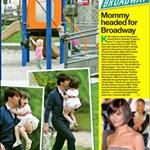 OK Magazine feature Tom Cruise Suri Cruise at LA playground  19045