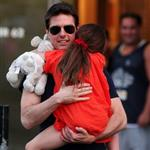 Tom Cruise out in New York City with daughter Suri 120947