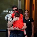 Tom Cruise out in New York City with daughter Suri 120950