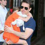 Tom Cruise out in New York City with daughter Suri 120969