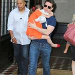 Tom Cruise out in New York City with daughter Suri 120970