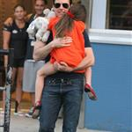 Tom Cruise out in New York City with daughter Suri 120971
