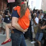 Tom Cruise out in New York City with daughter Suri 120978
