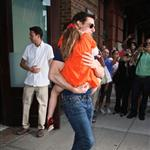 Tom Cruise out in New York City with daughter Suri 120979