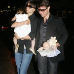 Tom Cruise and Katie Holmes take Suri Cruise to dinner at Nobu with Ben Stiller 23698
