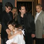 Tom Cruise and Katie Holmes take Suri Cruise to dinner at Nobu with Ben Stiller 23692