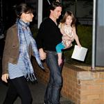 Tom Cruise and Katie Holmes in Australia 44786