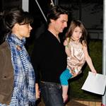 Tom Cruise and Katie Holmes in Australia 44785