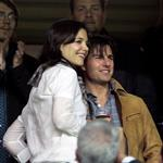 Katie Holmes at soccer game in Spain with Tom Cruise and Cameron Diaz 51972