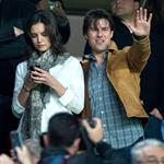 Katie Holmes at soccer game in Spain with Tom Cruise and Cameron Diaz 51974