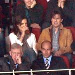 Katie Holmes at soccer game in Spain with Tom Cruise and Cameron Diaz 51980
