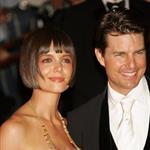 Tom Cruise Katie Holmes deliver the Presentation at the Costume Institute Gala 20302