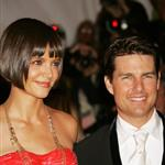 Tom Cruise Katie Holmes deliver the Presentation at the Costume Institute Gala 20304