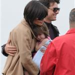 Tom Cruise Katie Holmes Suri Cruise in New York after Oprah Winfrey interview 20121