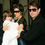 Tom Cruise Katie Holmes Suri Cruise in New York after Oprah Winfrey interview 20127