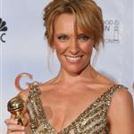 Toni Collette burnt face at the Golden Globes 2010  53483