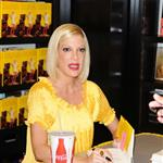 Tori Spelling at book signing 65765
