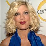 Possibly pregnant Tori Spelling promotes new season of TV show with husband and wonky tits  82656