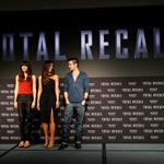 Jessica Biel, Kate Beckinsale and Colin Farrell attend the Total Recall photo call at Summer of Sony 4 Spring Edition in Cancun, Mexico 111609