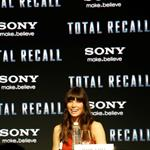 Jessica Biel attends the Total Recall photo call at Summer of Sony 4 Spring Edition in Cancun, Mexico 111625