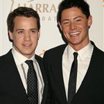 TR Knight with boyfriend Mark at GLAAD awards 19861