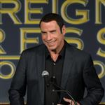 John Travolta at the Hollywood Foreign Press Association's 2012 Installation Luncheon 123026