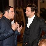John Travolta and Bradley Cooper at the Hollywood Foreign Press Association's 2012 Installation Luncheon 123031
