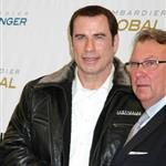 John Travolta shows impressive hair growth at Bombardier event 94793