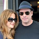 Kelly Preston and John Travolta out shopping in Paris  125620