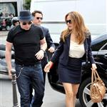 Kelly Preston and John Travolta out shopping in Paris 125621