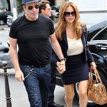 Kelly Preston and John Travolta out shopping in Paris 125623