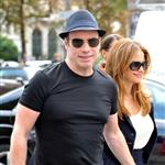 Kelly Preston and John Travolta out shopping in Paris 125625
