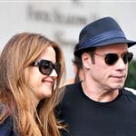 Kelly Preston and John Travolta out shopping in Paris 125626