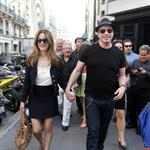 Kelly Preston and John Travolta out shopping in Paris 125635