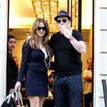 Kelly Preston and John Travolta out shopping in Paris 125638