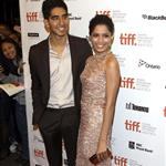 Freida Pinto and Dev Patel at the Trishna Premiere.  Photos from WENN 93842