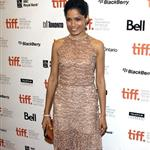 Freida Pinto and Dev Patel at the Trishna Premiere.  Photos from WENN 93844